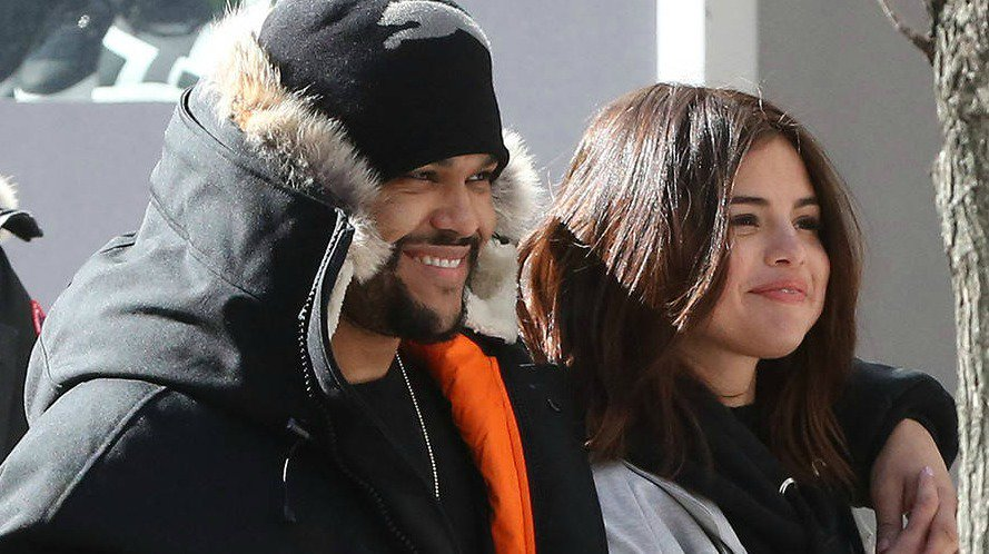 Selena Gomez laughed off a joke about Justin Bieber and The Weeknd: