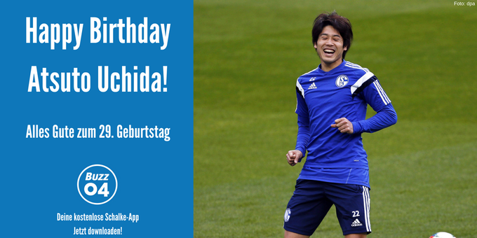 Happy Birthday to you! Happy Birthday to you!            , lieber Atsuto