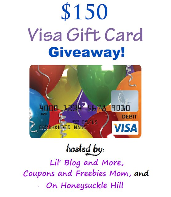 Welcome to the $150 Visa Gift Card giveaway event!