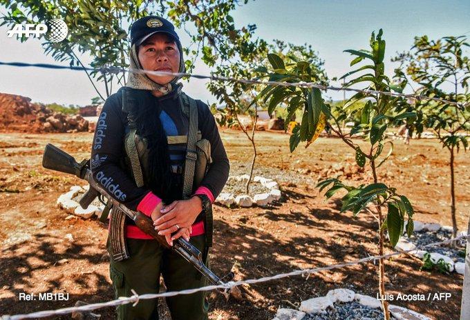 Colombie: mères et Farc, de la guerre à la paix https://t.co/JTRseDfUv2 par @Arroussiak #AFP