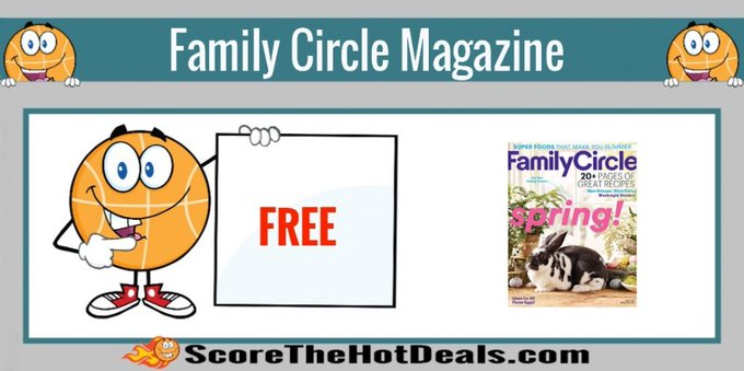 **FREE** Subscription to Family Circle Magazine!free freebies freebie freemagazines