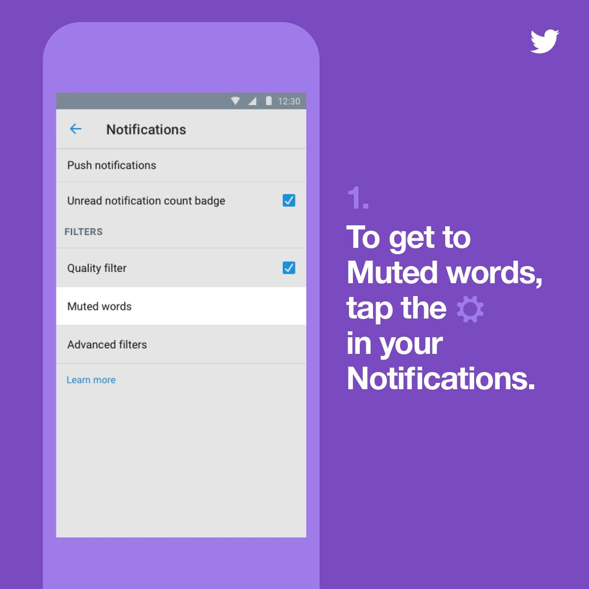 Mute words, phrases, hashtags & more for a specific time period in your timeline & notifications. On Web & Android. https://t.co/jhWKRu0cK1