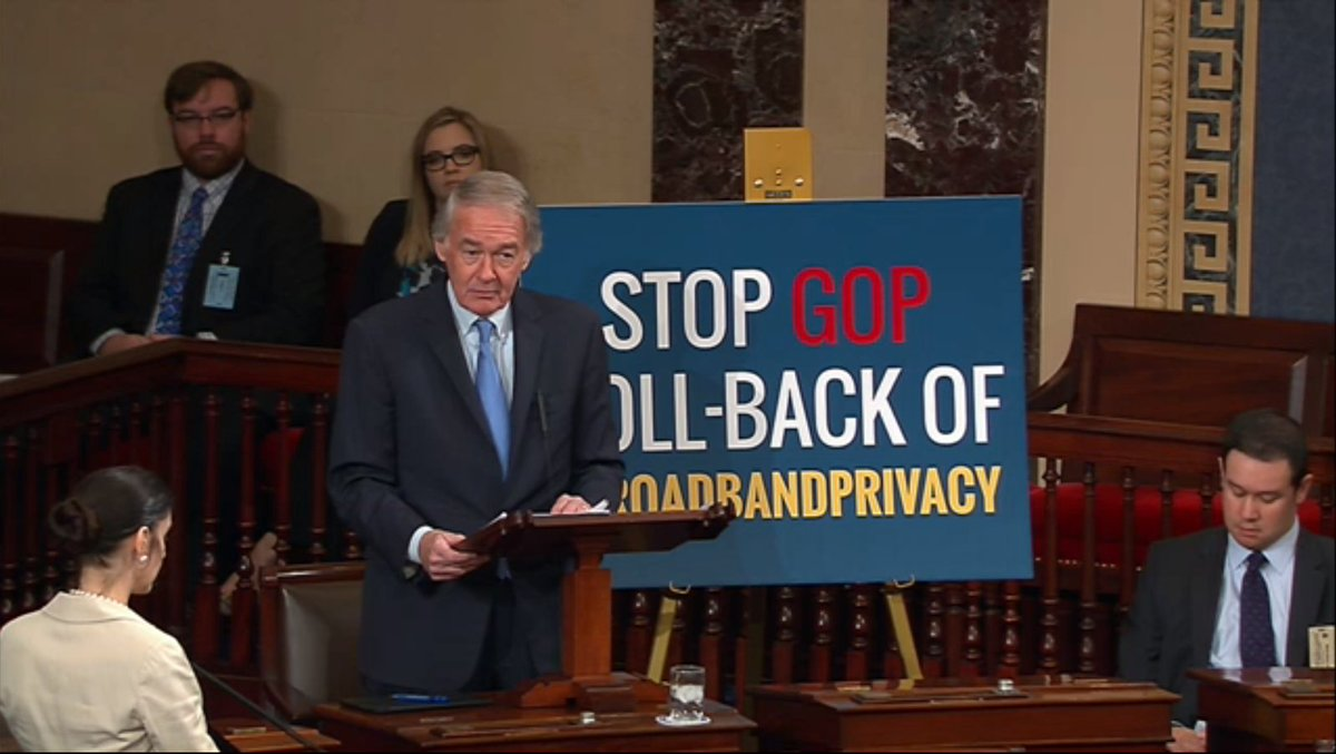 US Senate votes to let internet providers share your web browsing history without permission https://t.co/G11VZXfTYX