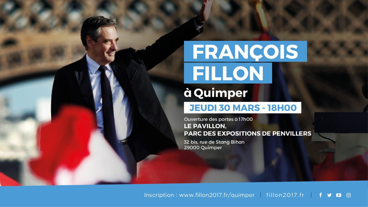 Je vous donne rendez-vous jeudi 30 mars à 18h, à Quimper. Inscription : https://t.co/EF6Q8GVplw