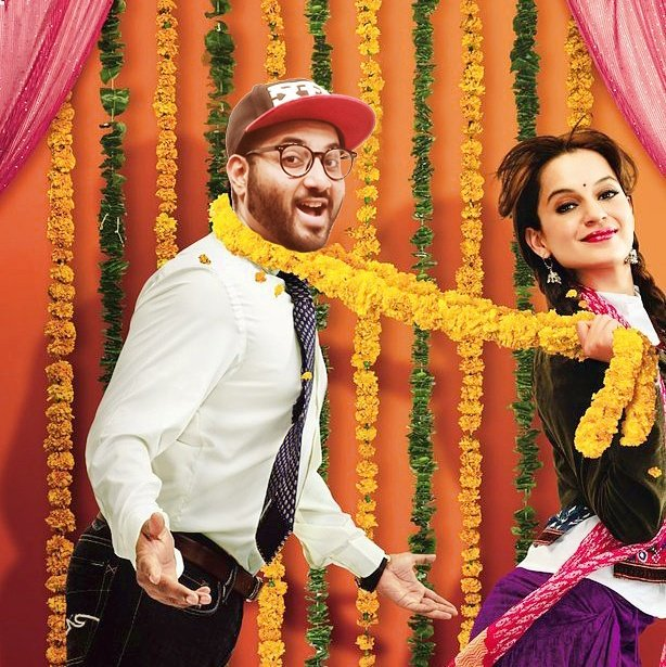 "The ""Joru ka ghulam\"" kinda picture. But, who the joru though? Also, Happy Birthday Kangana Ranaut. You slay"