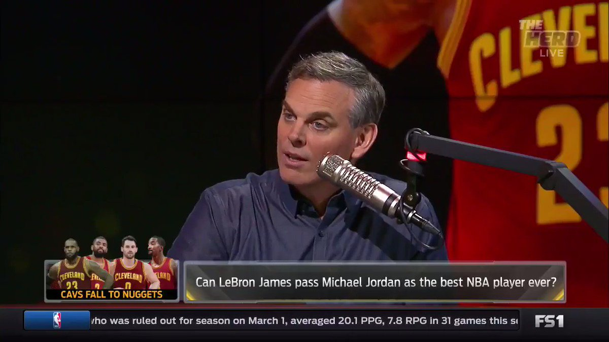 Just admit you're critical of LeBron because you're worried he's better than Michael Jordan https://t.co/cMlMVSruZx