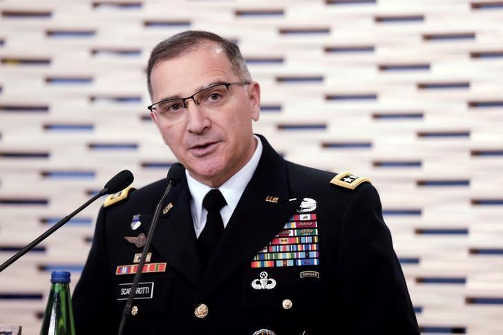 Russia may be helping supply Taliban insurgents in Afghanistan, says U.S. general.