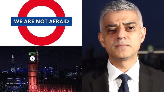 Sadiq Khan leads London in messages of unity and defiance after Westminster attack https://t.co/t1DTy8Oakl #westandtogether