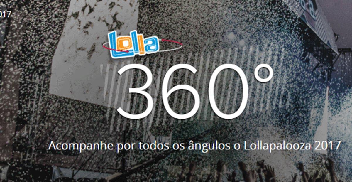 Lolla 360º: acompanhe por todos os ângulos o Lollapalooza 2017 https://t.co/Wcybhg6OY5 #G1