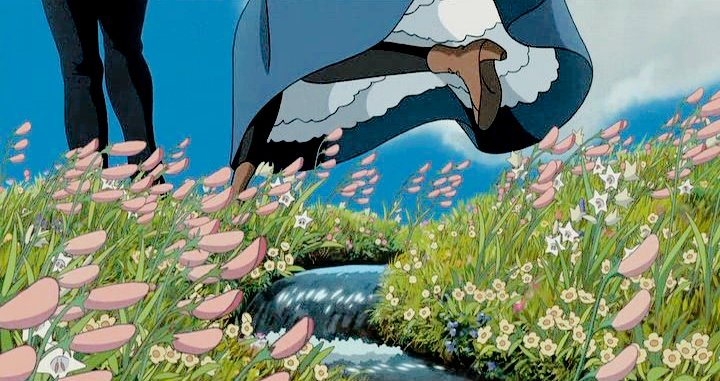 🍿 Howl's Moving Castle (ハウルの動く城) — 2004 ;