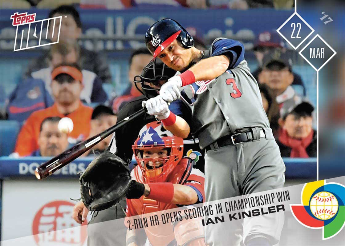 History happened, now celebrate.  Get these sick @Topps cards for your collection. https://t.co/Z7BT2muzgg #WBC2017 https://t.co/dB2V0etlXD