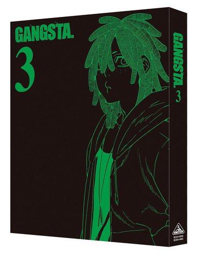 本日3/24発売Blu-ray&DVD「GANGSTA.」第3巻(2015年作品)ダグ(CV.吉野裕行)