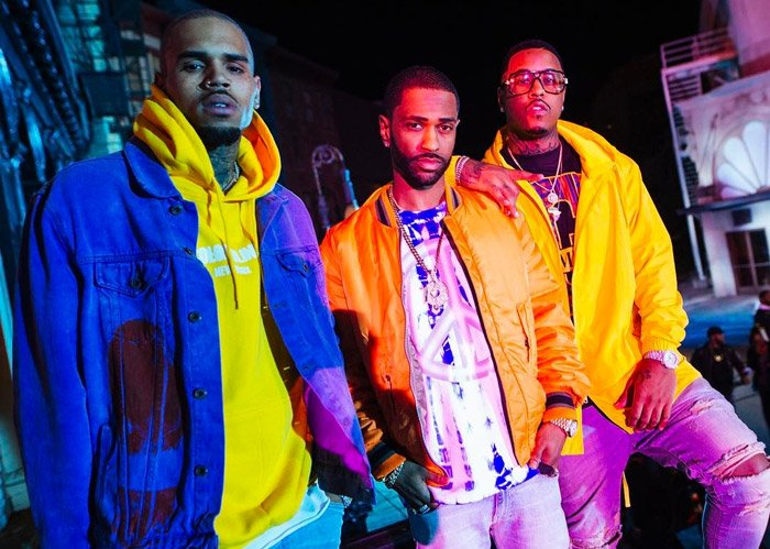Jeremih, Chris Brown, and Big Sean team up to shoot the video for 'I Think of You' https://t.co/xGv3UmMlMQ