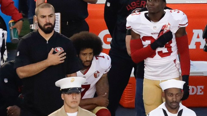 Colin Kaepernick donates $50K to Meals on Wheels after Pres. Trump's swipe at the free agent during Kentucky rally. https://t.co/cEvV7Tp36Y