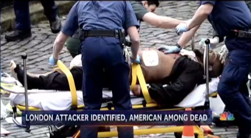 London terror attack:  Victim death toll at 4, including American; suspect named.  @BillNeelyNBC has details now on @NBCNightlyNews.