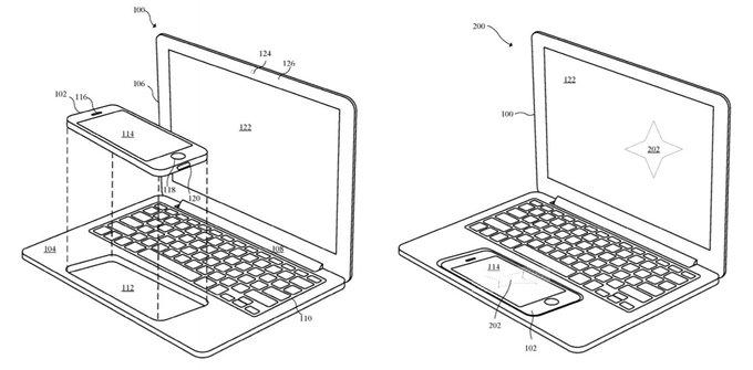 Apple、iPhoneをはめ込んでCPUやトラックパッドにするMacBook的な何かの特許を取得 https://t.co/TRAvXTcnvo