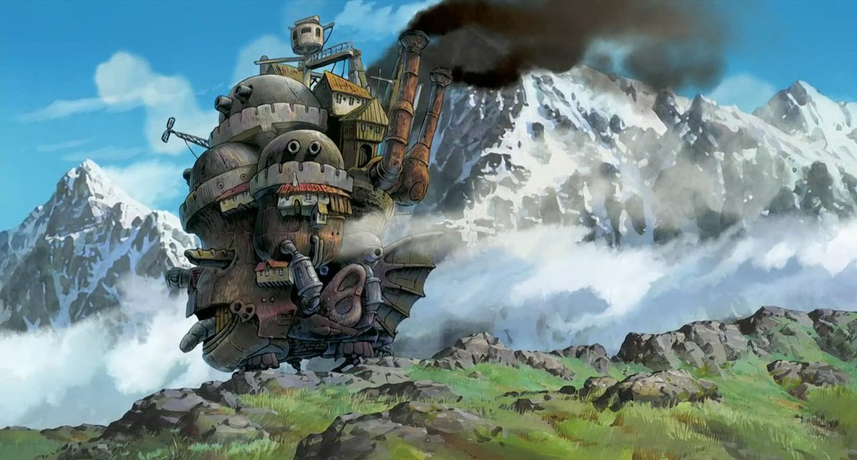 Howl's Moving Castle ▪️ ハウルの動く城- 2004