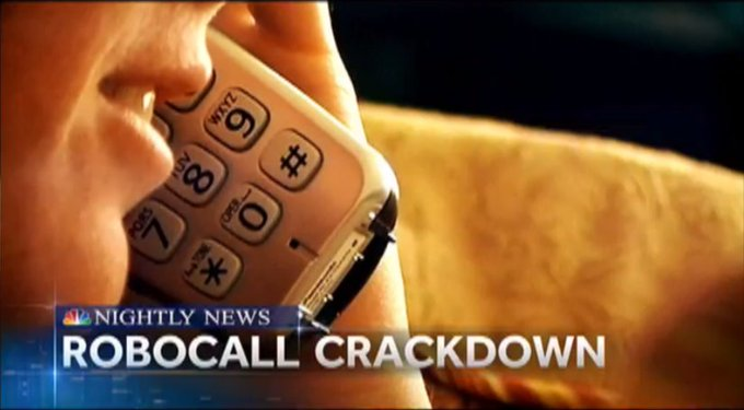 FCC rule change could lead to fewer robocalls coming to your phone.  @Miguelnbc explains now on @NBCNightlyNews.