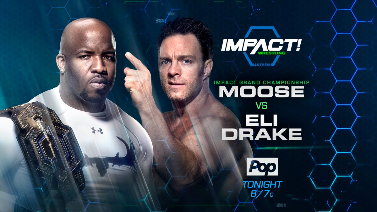 ARE U READY?!  @IMPACTWRESTLING STARTS NOW!  MOOSE v ELI DCC v LAX LASHLEY in action WHO IS SHE?  On @PopTV in the US &  in @fightnetCANADA!
