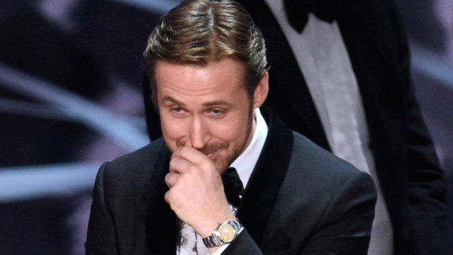 .@RyanGosling explains why he laughed during that Oscars best picture mix-up
