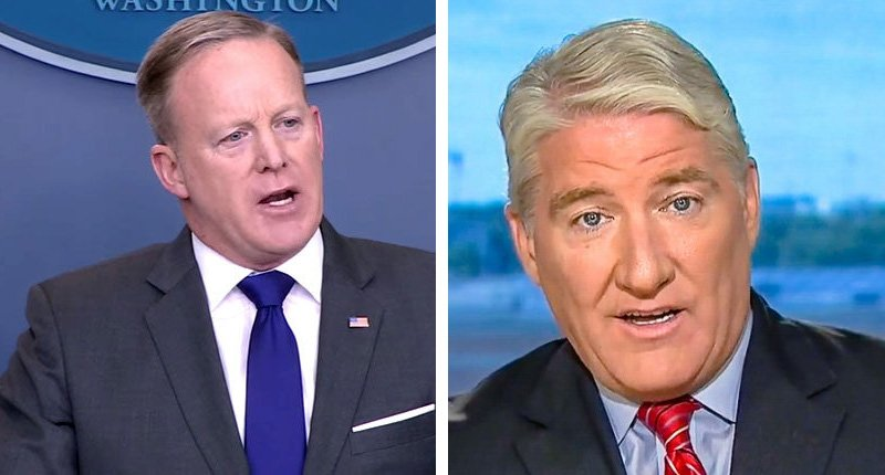 'Pay no attention to the man behind the podium': John King calls out Sean Spicer's 'credibility problem' https://t.co/6m0RgHxYwv