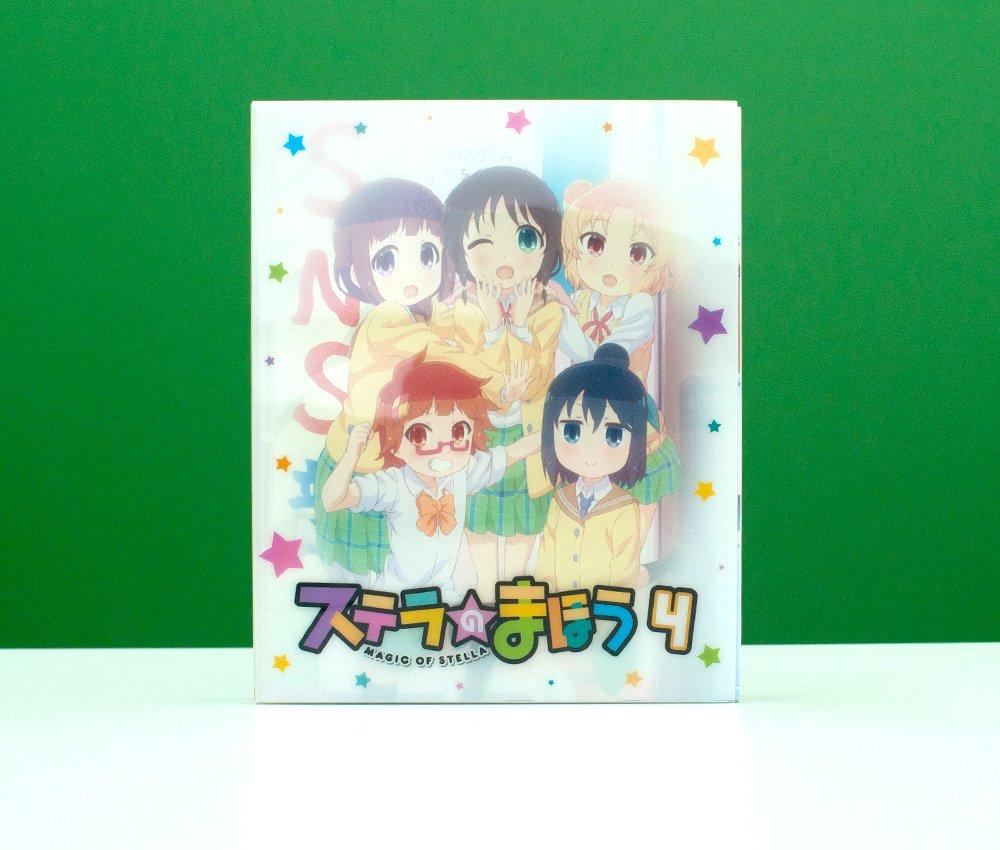 TVアニメ『ステラのまほう』4巻(Blu-ray/DVD)のデザインを担当いたしました(古磯・木緒)