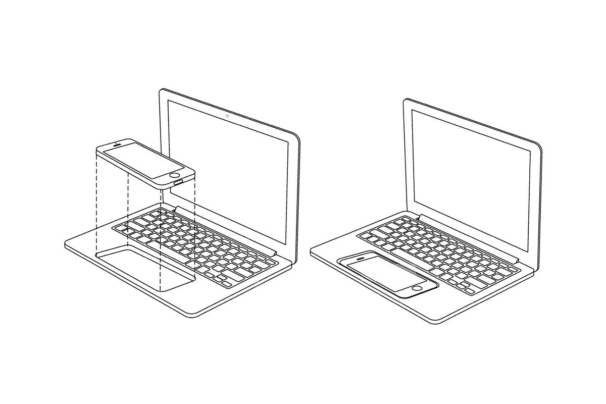 Apple imagines turning an iPhone or iPad into a touchscreen MacBook https://t.co/fEf834gEql