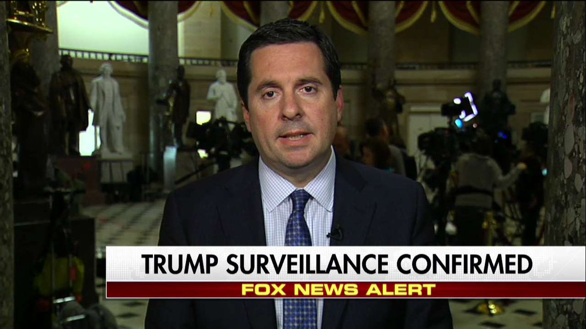 ".@DevinNunes: ""The lack of a leak investigation is quite concerning. We need to make sure that these leaks are being tracked down."" #Hannity"