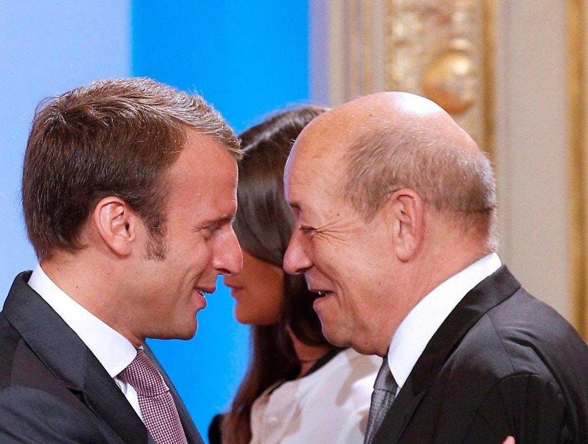 #Rediff Jean-Yves Le Drian rejoint Emmanuel Macron https://t.co/md3rE4OEp3