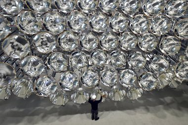 Why did the Germans build an 'artificial sun'?