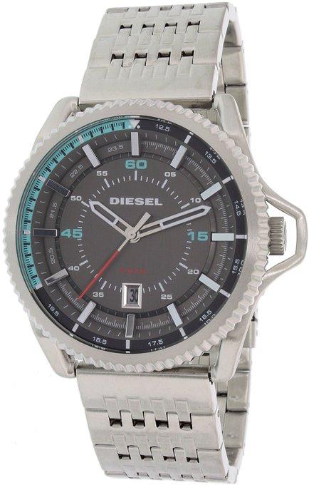 #free #fashion #watches #win #giveaway #np Diesel Men's Rollcage DZ1729 Silver Stainless-Steel Quartz Watch #rt
