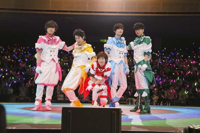 新作OVA制作やCG LIVE告知の大発表も!「美男高校地球防衛部LOVE!LOVE!ALL STAR!」夜の部豪華9人