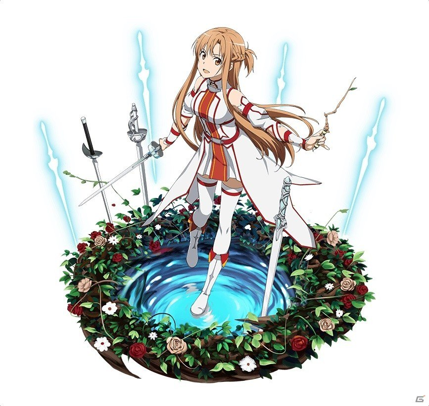 iOS/Android「ソードアート・オンライン コード・レジスタ」戦神シリーズにアスナが新登場!★8まで覚醒可能なab