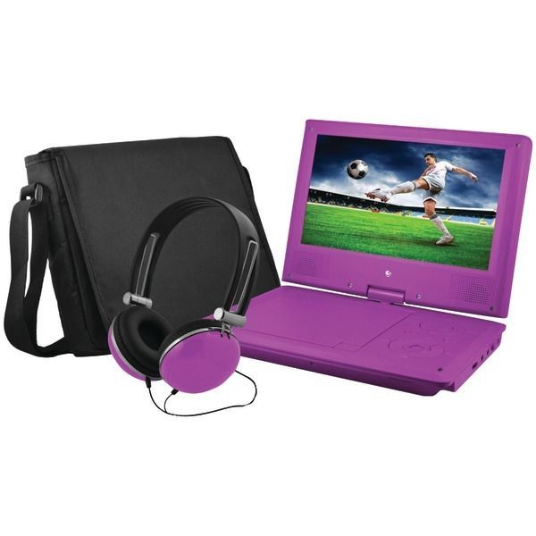 "#free #music #win #style #follow #giveaway #mp3 EMATIC EPD909PR 9"""" Portable DVD Player Bundle (Purple) #rt"
