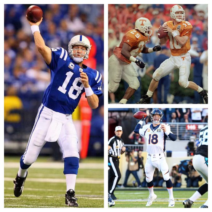 Happy birthday to the greatest player to ever play the greatest sport in the world. my hero peyton manning