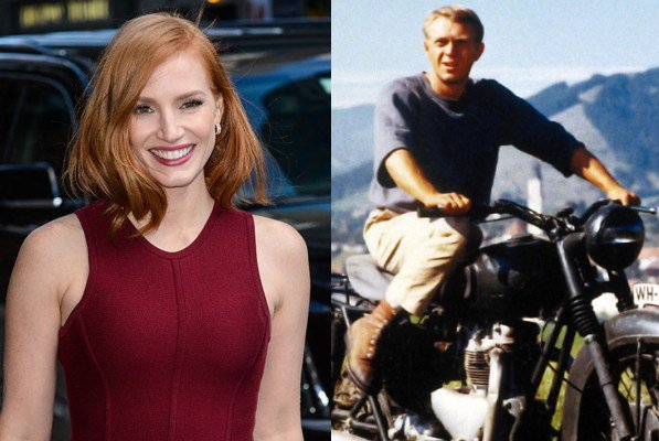 March 24: Happy Birthday Jessica Chastain and Steve McQueen