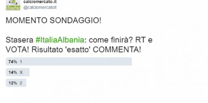 #ItaliaAlbania