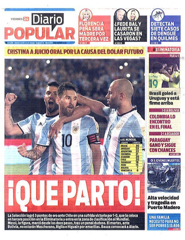 diarios diario popular cr nica de hoy On diario popular espectaculos hoy