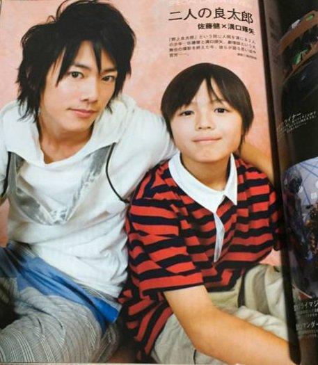 代役というか子役の方の良太郎がそろそろTV放送時の佐藤健の年齢に追いつくだろうから顔を拝んでみようとぐぐったらドリフェス