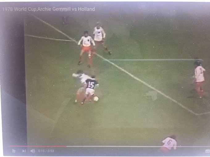 Happy 70th Birthday Archie Gemmill - scorer of undoubtedly the greatest goal in world footballing history! Google it