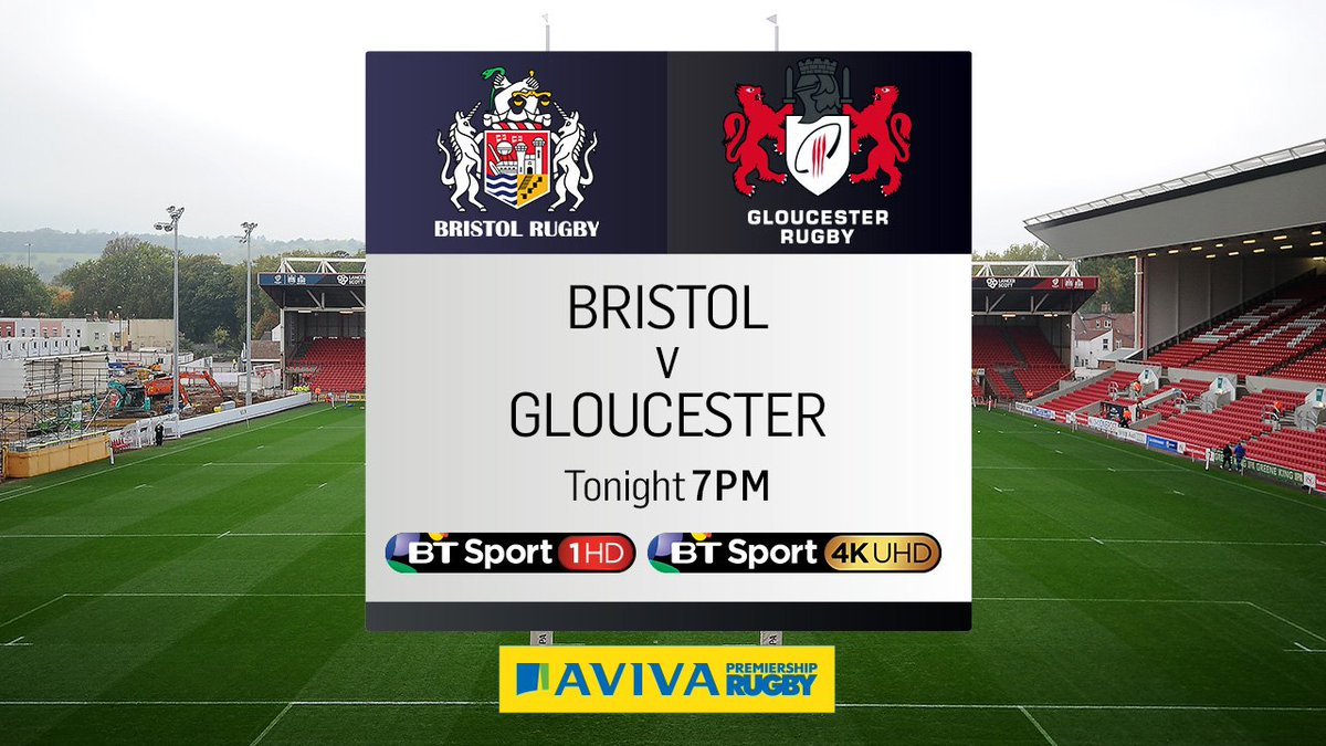 test Twitter Media - Our first match of the weekend!  We're live at Ashton Gate from 7pm as Bristol welcome Gloucester... https://t.co/SIFbrCbw5N