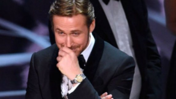 Ryan Gosling reveals the REAL reason behind his bizarre reaction to the Oscars blunder...