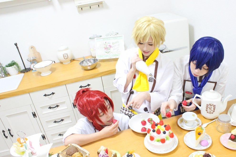 【コスプレ】ドリフェス!/スイートショコラティエ&パステルサマーセーター***Photo by なるさん()とらしぐ!!