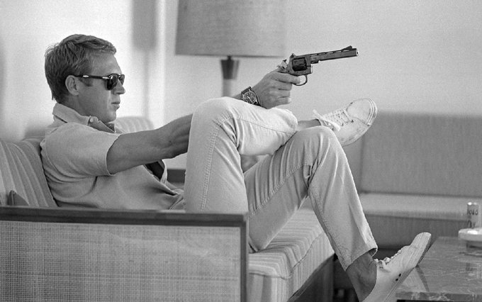 Happy birthday (RIP) to that dashing badass of the silver screen, Oscar-nominee Steve McQueen!