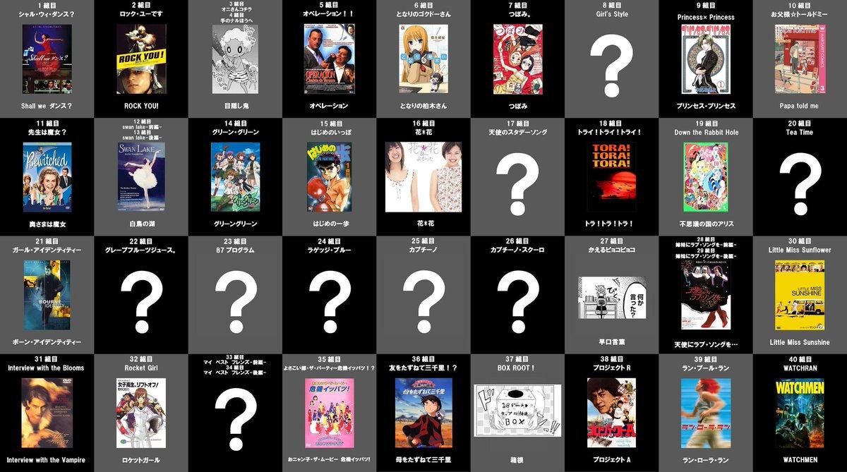 ハナヤマタ67組目「ザ・ピーチ」の元ネタっぽいもの18組目「トライ!トライ!トライ!」の元ネタ情報提供があったので修正し