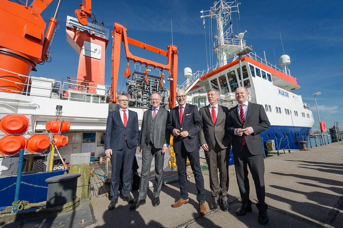 Norddeutsche Regierungschefs begrüßen in #Kiel neue Dachorganisation für deutsche #Meeresforschung. https://t.co/8BjHqIz93t © Frank Peter https://t.co/bx9yZ24Abz