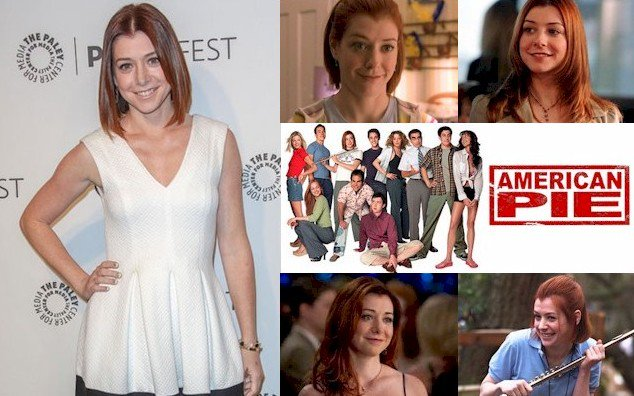 Hoy cumple 43 años Alyson Hannigan (Michelle Flaherty en Happy Birthday