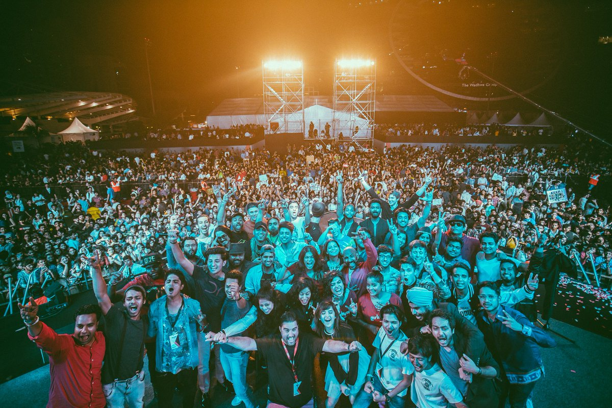Picture hai. Perfect bhi hai. Thank you ALL for making this a night to remember. ❤️🎉 #YTFFMUMBAI