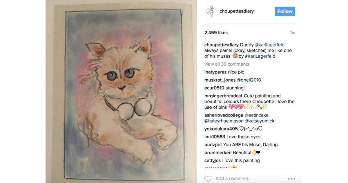 カール・ラガーフェルドの愛猫のインスタがハッキング被害に https://t.co/jQEbXrQLBR