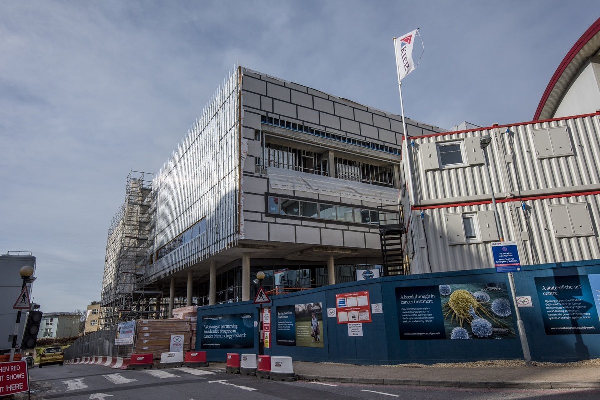 test Twitter Media - Every day we get a step closer to the finishing line. Here are the latest images from the Centre for Cancer Immunology. #YoureIt https://t.co/sCmmFrt6fT